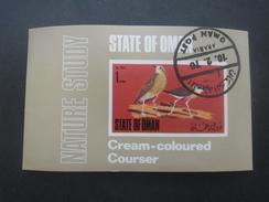OMAN Bloc Oiseau Oblitéré - Oman