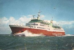 CPA-197-FERRY-CIE THORESEN CAR FERRIES-VIKING-SOUTHAMPTON-LE HAVRE-CHERBOURG-TBE - Ferries