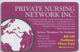 BARBADOS - PRIVATE NURSING NETWORK INC - 263CBDA - Barbados