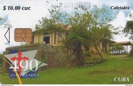 TARJETA TELEFONICA DE CUBA (CAFETALES) (325) - Cuba