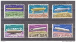 1978 - Dirigeables  MI No 3499/3504 Et Yv P.A.  No253/258 - 1948-.... Repúblicas