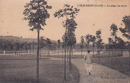L ISLE ADAM La Plage Ses Tennis - L'Isle Adam