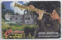 BARBADOS - ANDRE WOODVINE - 125CBDC - Barbados