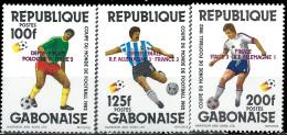 GABON - Vainqueurs De La Coupe Du Monde De Football 1982 - Gabon