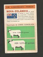 Rare WW II POSTCARD WWII BRITISH & NEW ZEALAND PROPAGANDA ANTI NAZI GERMANY - New Zealand
