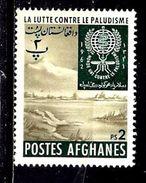 AFGHANISTAN 644* 2p Polychrome Eradication Du Paludisme - Afghanistan