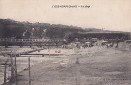 L ISLE ADAM La Plage - L'Isle Adam