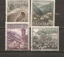 Andorra Española - Edifil 60-61, 63, 65 - Yvert  53-54, 56, 58 (MH/*) - Andorra Española