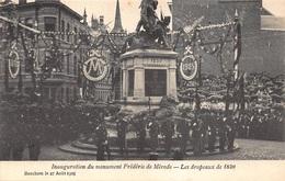 Antwerpen Anvers   Berchem Inauguration Du Monument Frédéric De Mérode Les Drapeaux De 1830           I 2542 - Antwerpen