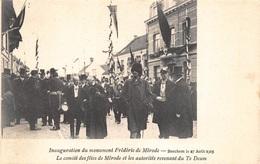 Antwerpen Anvers Berchem Inauguration Du Monument Frédéric De Mérode.le Comité Des Fêtes Et Les Autorités Te Deum I 2544 - Antwerpen