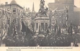 Antwerpen Anvers Berchem Inauguration Du Monument Frédéric De Mérode. Les Sociétés Défilant     X 2548 - Antwerpen