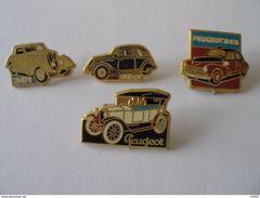 4 Pin's PEUGEOT - Peugeot