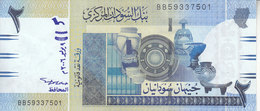 SUDAN 2 POUND 2006 P-65 UNC */* - Sudan