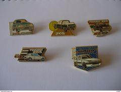 5 Pin's De 205 PEUGEOT - Peugeot