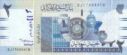 SUDAN 2 POUNDS 2006 MWR-RD1 P-65 REPLACEMENT UNC  */* - Sudan