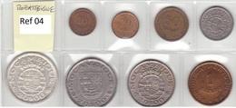 Mozambique - Set Of 8 Coins (portuguese Colonies) - Ref 04 - Mozambique