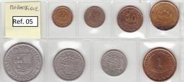 Mozambique - Set Of 8 Coins (portuguese Colonies) - Ref 05 - Mozambique
