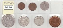 Mozambique - Set Of 8 Coins (portuguese Colonies) - Ref 06 - Mozambique
