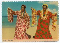 USA--Hawai--HONOLULU--1981--A Lei For You--Danseuses Hawaiennes----timbre--cachet - Honolulu