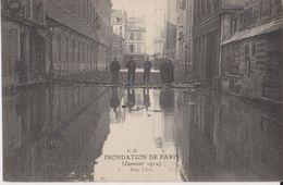 Inondation De Paris (Janvier 1910) - Rue Cler - CH - Inondations De 1910