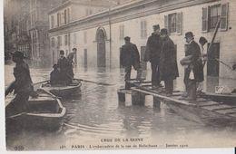 Crue De La Seine - Janvier 1910 - 283 - Paris - L'Embarcadère De La Rue De Belle Chasse - ELD - Inondations De 1910