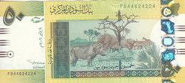 SUDAN 50 POUNDS 2006 P-68 AU-UNC */* - Sudan