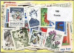 Lot 100 Timbres Suede - Timbres