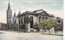 Florida Jacksonville Public Library And First Presbyterian Church - Jacksonville