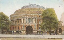 Londres (Royaume-Uni) - The Albert Hall (Circulé En 1908) - London Suburbs