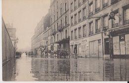 Paris-  La Grande Crue De La Seine ( Janvier 1910) - 128 - Inondation De La Rue Surcouf - ND Phot - Inondations De 1910