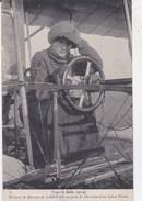 Carte Postale Aviation  Mme La Baronne De Laroche  Sur Son Biplan Voisin   19-26 Juin 1910    N° 14 - Piloten