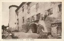 """CPA FRANCE 63 """" Saint Bonnet Le Chastel """" - Frankreich"""