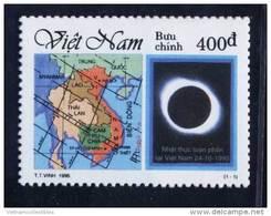 Vietnam Viet Nam MNH Perf Stamp 1995 : Total Solar Eclipse (Ms721) - Vietnam