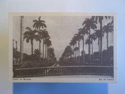 BRASIL BRAZIL RIO DE JANEIRO Year 1940 Postcard CANAL DO MANGUE - Postcards