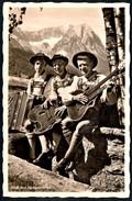 A8950 - Mode Trachten Bayern - Gitarre Zitter Musikinstrumente - Stempel Frauendorfer Partenkirchen TOP - Kostums