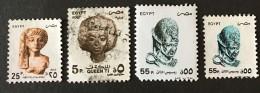 Egypt - (0) - 1993-1999 - # 1516, 1511, 1513, 1518 - Egypt