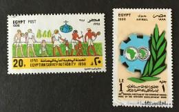 Egypt - (0) - 1998-1999 - # 1692, 1710 - Egypt