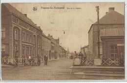 Frasnes-les-Buissenal Rue De La Station 1931 - Frasnes-lez-Anvaing