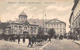 Wilno Lithuania - Ulica Wielka 1910 - Lituania