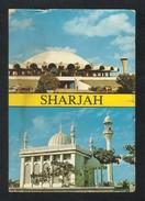 United Arab Emirates Sharjah Airport Mosque Picture Postcard U A E View Card CONDITION AS PER SCAN - Dubai
