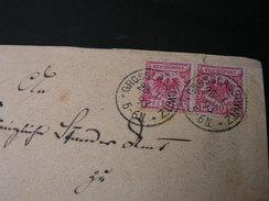 DR Cv. Grosslasowitz 1893 - Brieven En Documenten