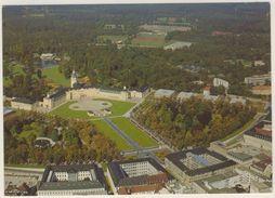 AK  Karlsruhe Schloss Luftaufnahme 1988 - Karlsruhe