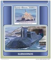 Guinea Bissau 2017 Submarines - Guinea-Bissau