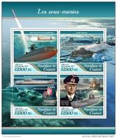 Guinea Guinee 2017 Submarines - Guinea (1958-...)