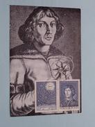 KOPERNIKUSZ - 1973 ( Zie Foto Voor Details ) - Cartes-maximum (CM)