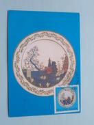 PORCELAN - PORCELAIN - PORZELLAN Herend - 1972 ( Zie Foto Voor Details ) - Cartes-maximum (CM)