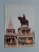 St. Stephans Monument BUDAPEST - 1972 ( Zie Foto Voor Details ) - Cartes-maximum (CM)