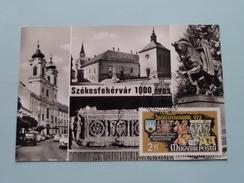 SZEKESFEHERVAR 1000 Eves - 1972 ( Zie Foto Voor Details ) - Cartes-maximum (CM)