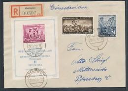DDR Block 10 O  -Briefvorderseite  (t9249 ) Siehe Bild - [6] Oost-Duitsland