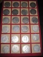 LOTTO DI 24 MONETE (RICONIO) VARI PAESI - Monnaies